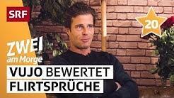 Ex-Bachelor Vujo Gavric bewertet Flirtsprüche   Zwei am Morge