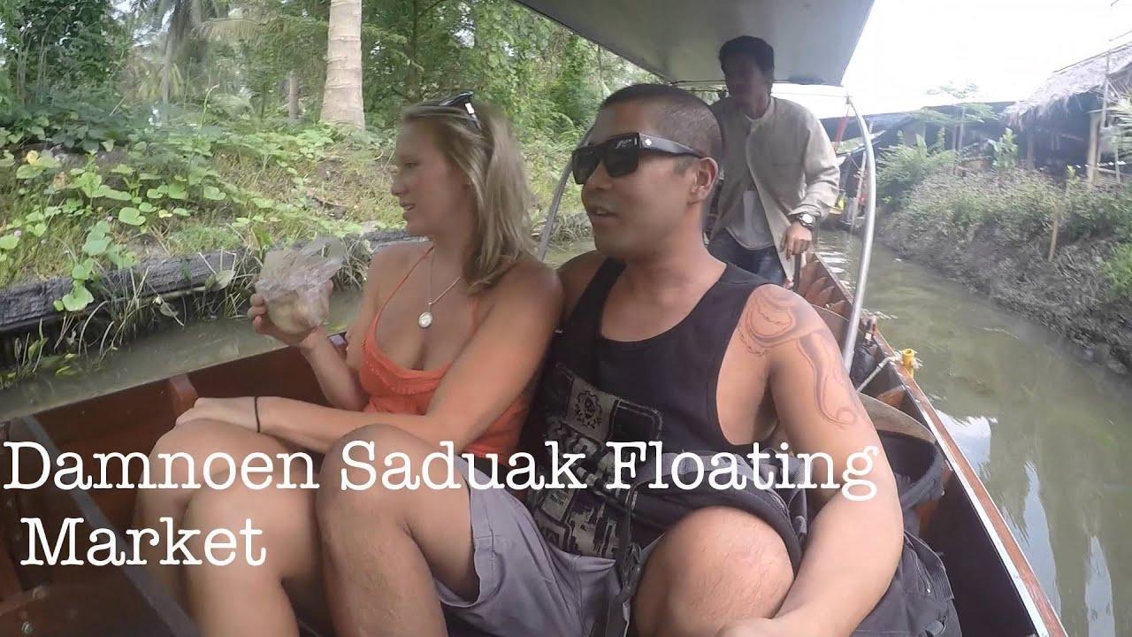 Download Thailand 2014 Part 2 of 10 Adventure Damnoen Saduak Floating Market
