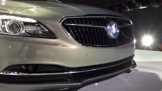 Will the front emblem on the 2017 Buick LaCrosse be illuminated?