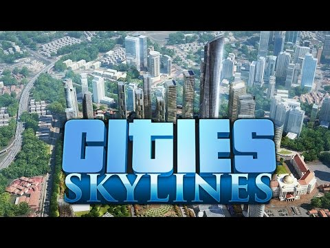 """Cities: Skylines - Gameplay #3: """"A New Harbour"""""""
