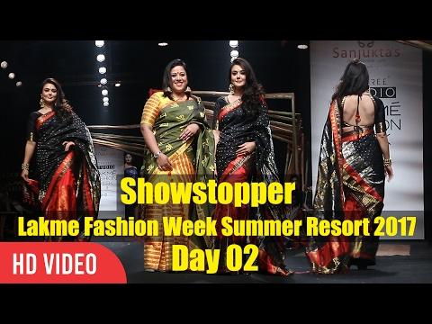 Preity Zinta Showstopper For Lakme Fashion Week Summer Resort 2017 | #Lakmefashionwk