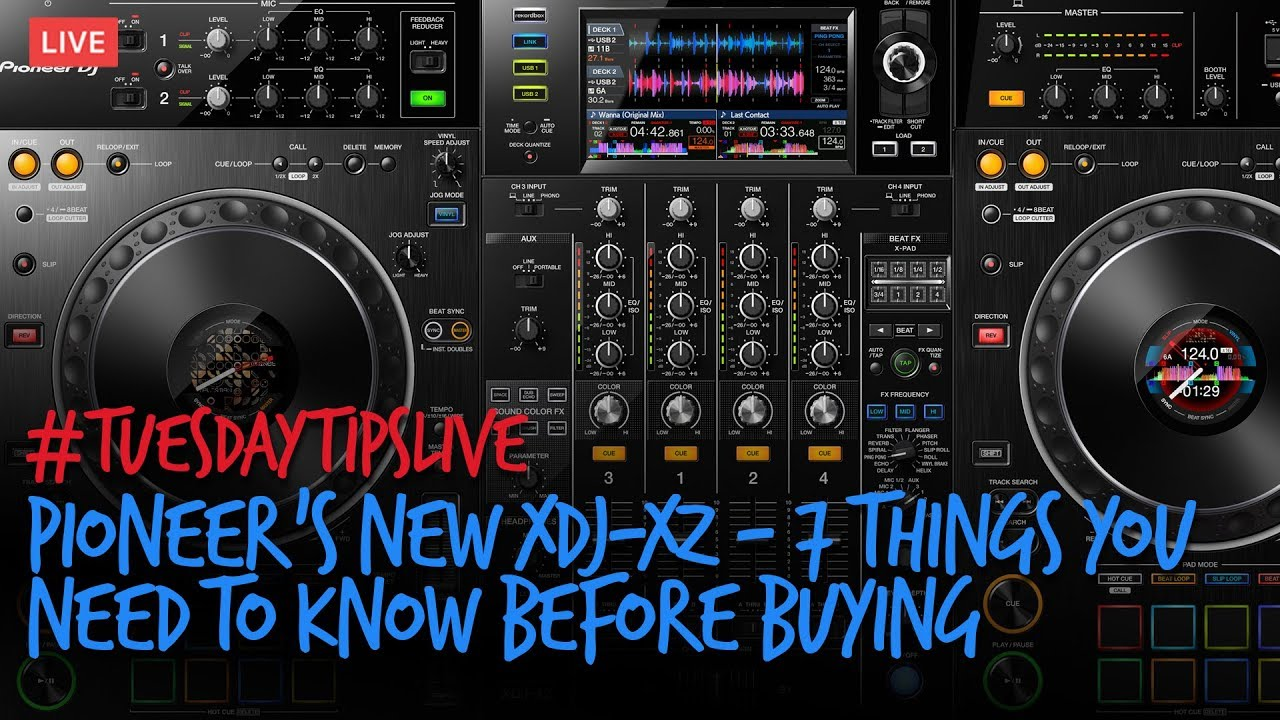 Pioneer DJ's new XDJ-XZ - 7 things you NEED to know before buying #TuesdayTipsLive