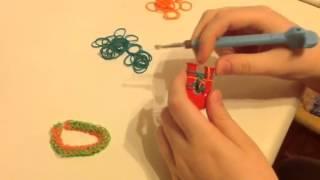 5 видео урок Rainbow loom