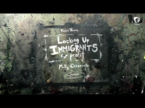Molly Crabapple: Locking up immigrants for profit
