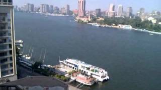 View of the Nile River from Intercontinental balcony Thumbnail