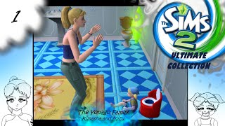 The Sims 2 ||1|| Potty Training and Smart Milk