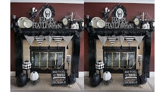 Halloween Mantel Decoration Ideas 4