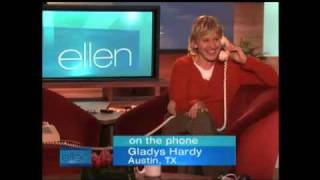 Ellen Degeneres - First Gladys Call