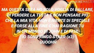 Pinguini Tattici Nucleari - Ringo Starr (Testo con Audio e Lyrics)