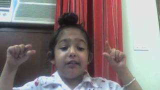 Little Celebrity-Junior Sartaaj - 4 yr old Sehaj singing Nikki Jehi Kudi