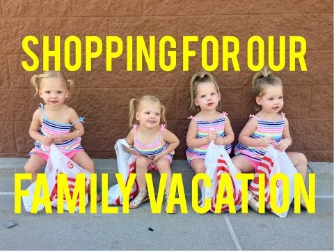 SHOPPING TO PREPARE FOR OUR BIG VACATION