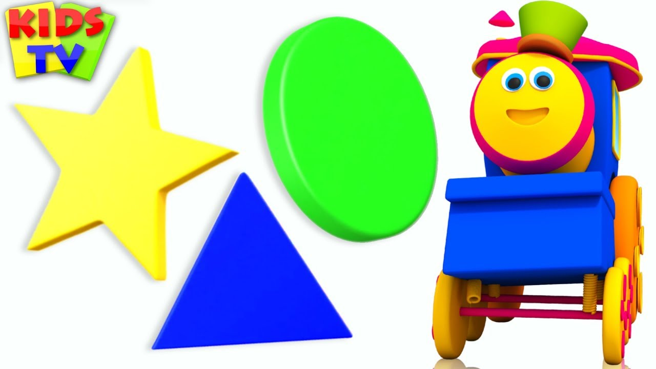 Learn Shapes | Learning videos for Kids | bob fun series | learning show | kids tv | bob the train