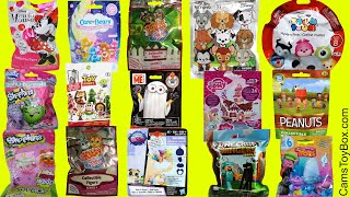 Blind Bags Opening Toys Care Bears Toy Story Peanuts Kitty Puppy in My Pocket Trolls Shopkins Minnie