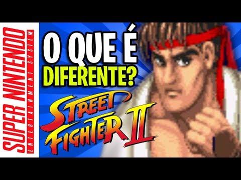 AS BIZARRICES DE  STREET FIGHTER 2 DE SNES: É BOM?
