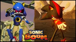 Sonic Boom - Shadow, Metal Sonic, Sticks, and more Screenshots!