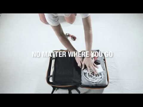 IAMRUNBOX revealing the active commuter's backpack