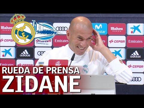 Rueda de prensa de Zidane con el Real Madrid |Diario AS