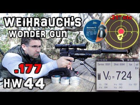 Weihrauch HW44 .177 - FULL REVIEW