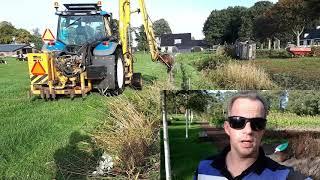 Boer Gerrit vlogt   Verschillende manieren van sloten schoonmaken 1