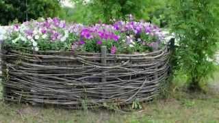 Бордюр для клумб(Видео-блог о дизайне, архитектуре и стиле. Идеи для тех кто обустраивает свой дом, квартиру, дачу, садовый..., 2014-04-22T09:43:46.000Z)