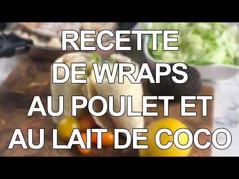 recette-de-wraps-au-poulet-et-au-lait-de-coco