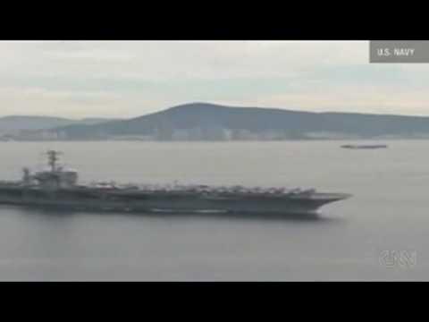 VnExpress   Tàu sân bay Mỹ trong cuộc tập trận với Hàn Quốc   Tau san bay My trong cuoc tap tran voi Han Quoc