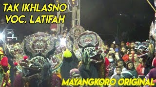 Download Tak Ikhlasno (HAPPY ASMARA) - Voc  LATIFAH - MAYANGKORO ORIGINAL