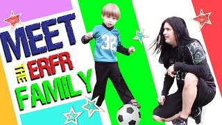 Meet the Eat Right Fit Right Family Vlog | Soccer and Playground fun!