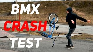 HI-TEN BMX CRASH TEST