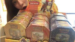 Pokemon Cards - Fall 2010 Suicune Entei Raikou Tin CASE Opening! (Part 1)
