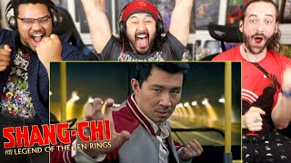 SHANG-CHI AND THE LEGEND OF THE TEN RINGS - TRAILER REACTION!! (Marvel Studios' Teaser)