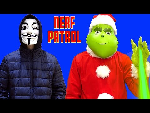 Can The Nerf Patrol Save Christmas From The Grinch?