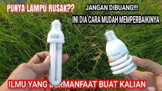 Download Video Wajib dicoba ! Trik memperbaiki Lampu rusak MP3 3GP MP4