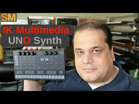 IK Multimedia Uno Synth first look Mp3