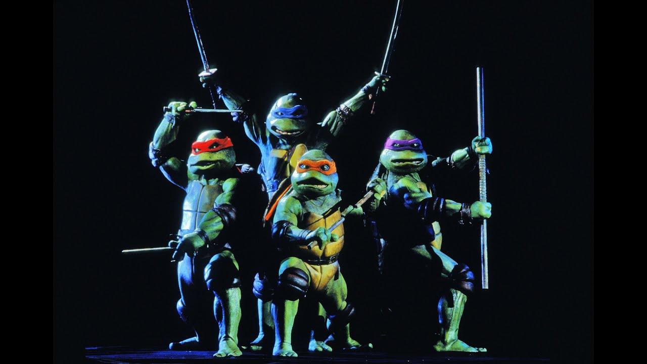 Teenage Mutant Ninja Turtles 80s Cartoon Theme Video