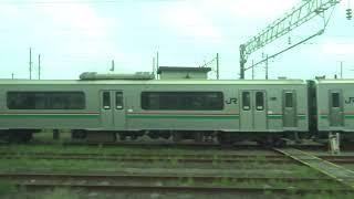 JR東日本 東北本線 仙石東北ライン HB-E210系 HB-E211-2 仙台→岩切 5573D