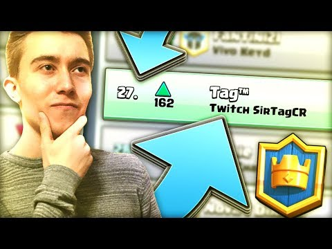 #27 IN THE WORLD!! Top Ladder Pushing (Stream Highlights #22) — Clash Royale