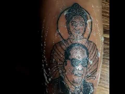 Babasaheb tattoo, Krishna Tattoo Chopda