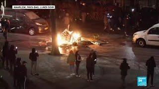 Covid-19 aux Pays-Bas : nouvelle nuit d'émeutes en opposition au couvre-feu
