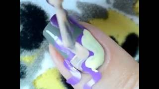 Как красиво на красить ногти