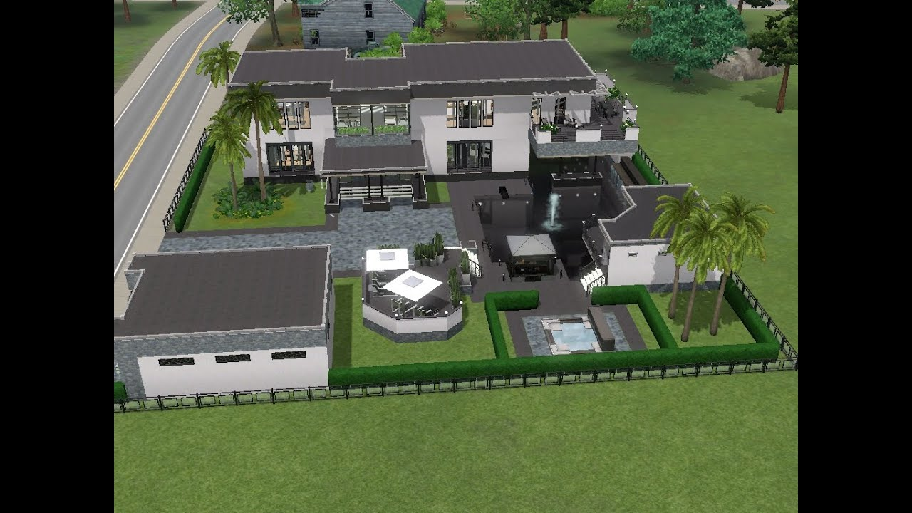 Sims 3 haus bauen let 39 s build modernes haus f r alex for Modernes haus sims 4