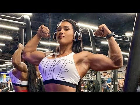 Muscles Girl Motivation | Alessandra Alvez Lima Workout | Female Bodybuilding Fbb