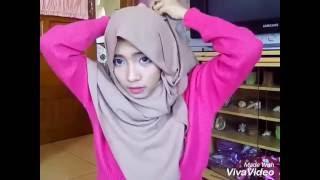 tutorial hijab pashmina simple   6 tutorial hijab mudah untuk sehari hari
