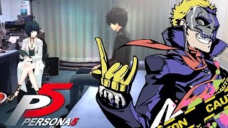 the doctor has a deal for us kamoshida s calling card   persona 5 8
