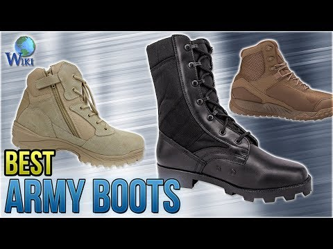 10 Best Army Boots 2018