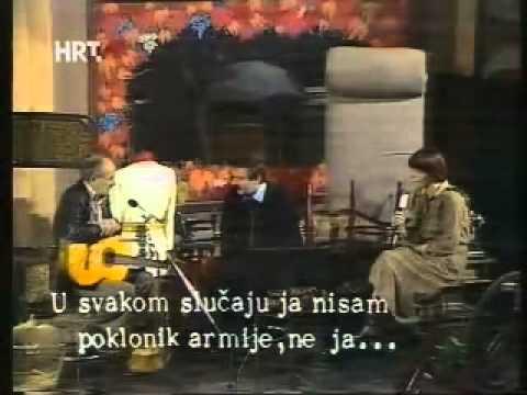 Bulat Šavlovič Okudžava na TV Zagreb 1978.