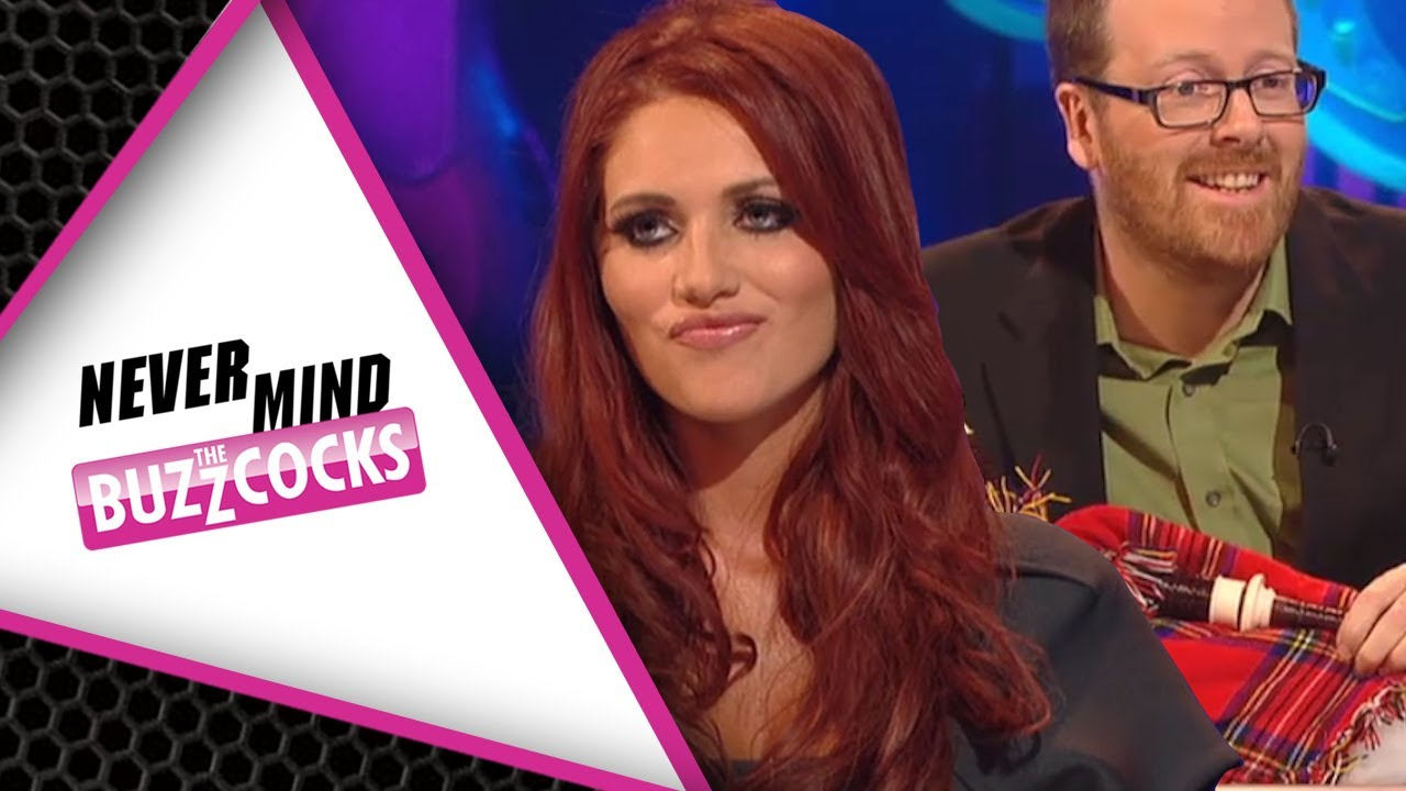 Frankie Boyle Questions Amy Childs' Vajazzle On Never Mind