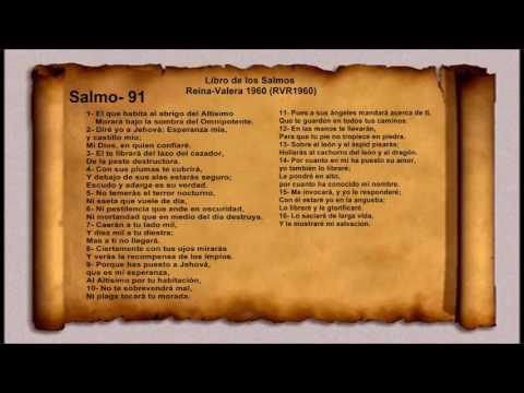 La Biblia   libro de los Salmos   Salmo  91  Reina Valera 1960 RVR1960