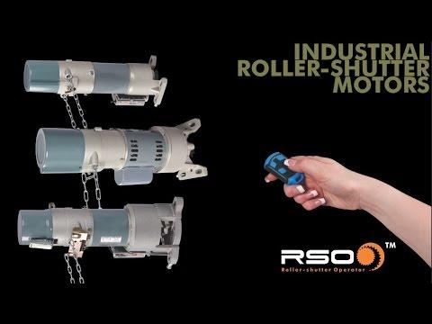 CENTURION's RSO Industrial Roller Shutter Operators