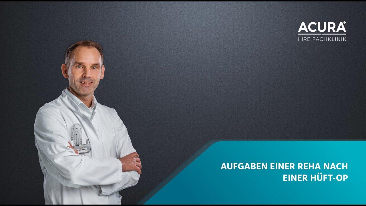 aufgaben einer reha nach hüft op - acura kliniken albstadt - youtube